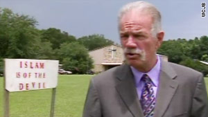 "Pastor Terry Jones says Right Wing Extreme will protect his church on ""International Burn a Quran Day."""