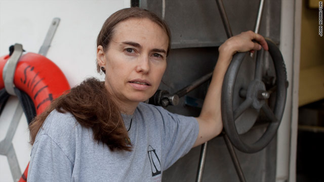 Samantha Joye, an oceanographer at the University of Georgia, has emerged as a spokeswoman for the deep ocean.