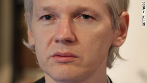 WikiLeaks founder Julian Assange says his website helps to shape the public's understanding of the war in Afghanistan.