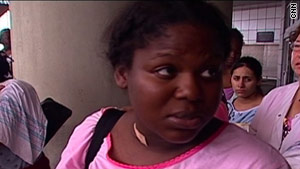 LaShawn Traylor had no idea where her newborn son was when she was evacuated from New Orleans.