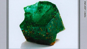 "Before it was cut, the ""Carolina Emperor"" emerald was a whopping 310 carats."