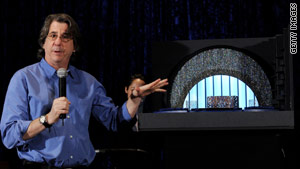 David Rockwell unveils his set design for the 82nd Academy Awards in February.