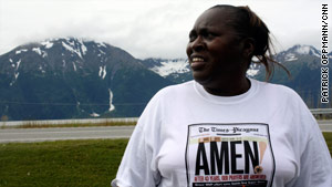 Iris Brown Carter brings her fighting and feisty spirit to Alaska.