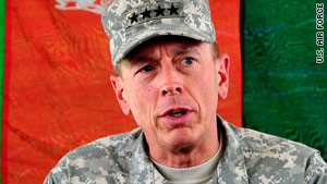 "Gen. David Petraeus said a church's Quran-burning ""is precisely the kind of action the Taliban uses."""