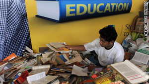 Organizing a book drive is one way to help a community on September 11. How will you volunteer?