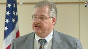 "Calumet County District Attorney Kenneth Kratz: ""My behavior was inappropriate."""