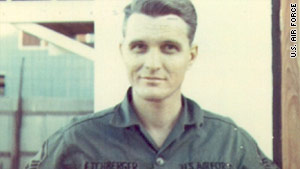 Chief Master Sgt. Richard L. Etchberger was killed in Laos in 1968.