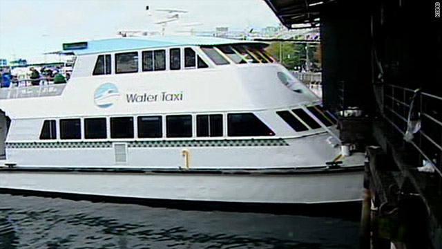 About 78 people were on board when the water taxi hit the pier Sunday in Seattle, Washington.