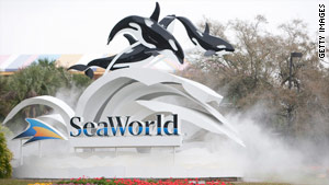 A 68-year-old international visitor was found unresponsive Saturday at SeaWorld's water park in Orlando, Florida.