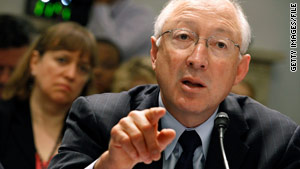 Interior Secretary Ken Salazar issued the moratorium in May, which was overturned, then issued a second ban in June.