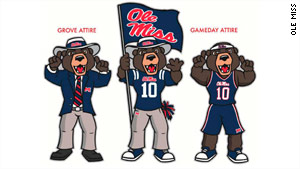 Rebel Black Bear was named as the new mascot for the University of Mississippi.