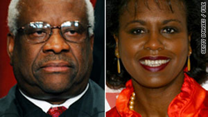 Anita Hill accused Supreme Court Justice Clarence Thomas of sexual harassment.