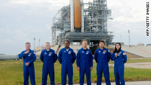 The crew of the shuttle Discovery is scheduled to take off November 1.