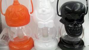 Halloween lanterns recalled for overheating - CNN.