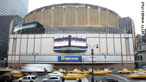 Madison Square Garden is host to professional hockey, basketball and other entertainment.