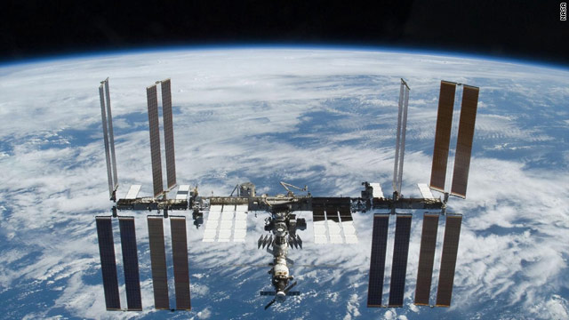 The international space station has been occupied continuously for 10 years as of Tuesday.