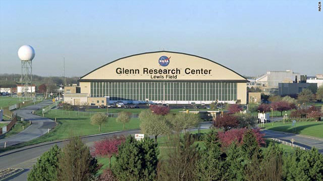 The Glenn Research Center is on 350 acres in Ohio. About 3,000 people work there, NASA says.