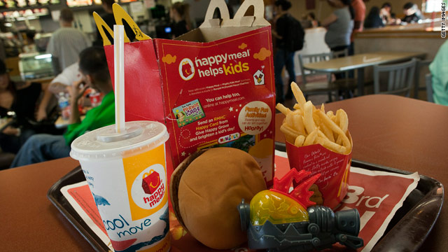 San Francisco may order Happy Meals to go -- permanently