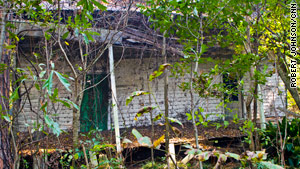 This home still stands on the plantation. As a young boy, Ernest Gaines lived in a home similar to this with his aunt.
