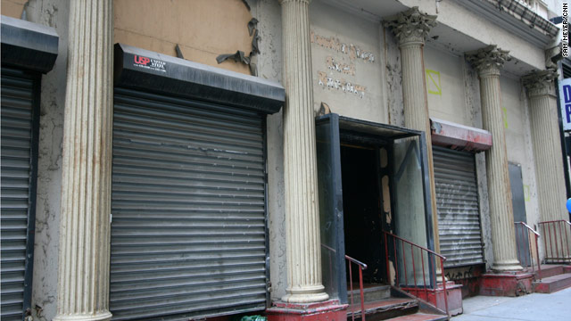The proposed Islamic center and mosque would be located in this building, just two blocks north of ground zero.