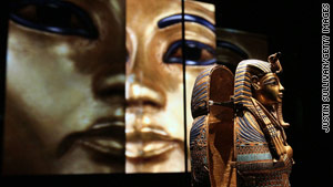 The 19 King Tut items will be sent back to Egypt in June 2011.
