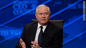 "Iran's leaders ""have been surprised by the impact of the sanctions,"" says Secretary of Defense Robert Gates."