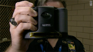 New York police are using new iris scanners as part of an initiative announced earlier this week.