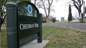Denver's Cheesman Park was built on a 19th-century cemetery. Up to 2,000 bodies are believed buried there.