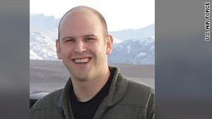 Air Force Capt. Jeffrey Haney was killed Tuesday when his F-22 crashed in Alaska.