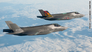 Some estimates put the cost of the F-35 at more than $380 billion.