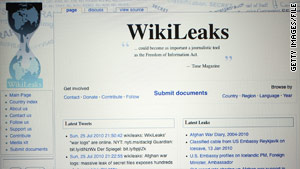 A WikiLeaks threat to publish sensitive cables has prompted a massive review of documents, a U.S. official says.
