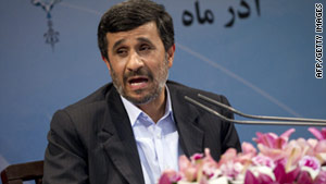 The cable cited a source who said President Ahmadinejad's government aggravated the situation by harassing Sunnis.