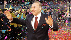 Kazakh President Nursultan Nazarbaev owns a palace and 40 horses, says a cable released by WikiLeaks.