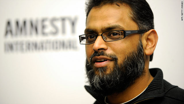 Briton Moazzam Begg was held at Guantanamo Bay detention camp for nearly three years after being detained in Afghanistan.