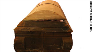 Lee Harvey Oswald's coffin had a bid of $4,177 on Wednesday afternoon.