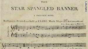 "The copy bears a first-edition hallmark. The print reads: ""A Pariotic Song,"" rather than ""Patriotic."""