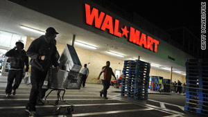 Participating Walmart stores will play a short video directed at shoppers, the DHS said.