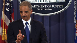 "Attorney General Eric Holder called the WikiLeaks releases ""arrogant, misguided and ultimately not helpful."""