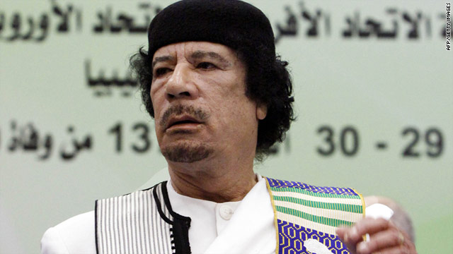 The cable revealed British concerns about Libyan leader Moammar Gadhafi's reaction if Megrahi was to die.