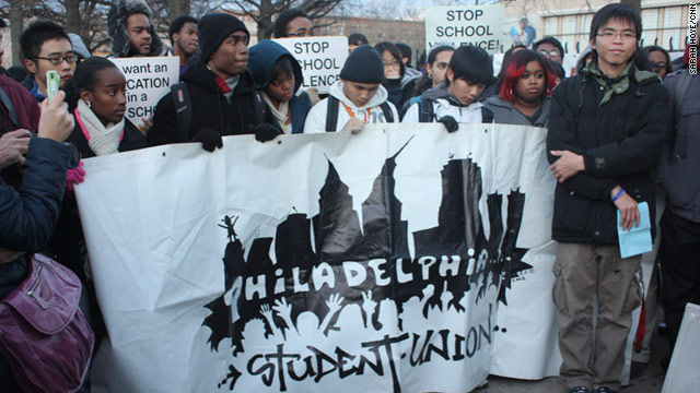 On the anniversary of mass attacks against Asian pupils, students and community organizers rally for nonviolent schools.