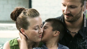 Melinda Moser and Seth have raised the boy since shortly before his second birthday. They named him Jamison.
