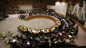 Diplomats were moved to a separate building within the U.N. complex.