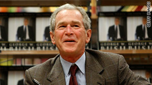 A person has been detained near the Dallas, Texas, home of former President George W. Bush.