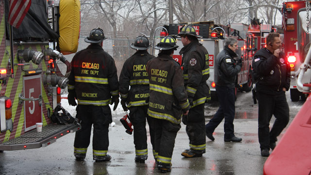 The casualties came after a wall and roof of the commercial building, which is on East 75th Street, collapsed without warning.