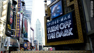 """Spider-Man: Turn Off the Dark"" swings back into action Thursday after it had been plagued with technical mishaps."