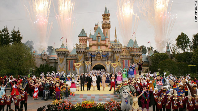The week between Christmas Day and New Year's Day can be a very busy one for theme parks such as Disneyland.
