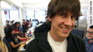 "Foursquare founder Dennis Crowley said competition is only making his location app ""bigger and stronger."""