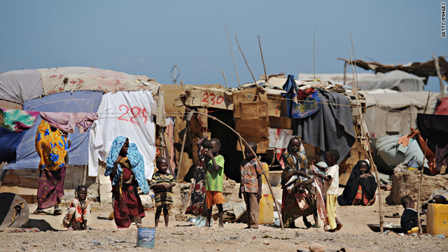 The World Food Program estimates that more than 1 million people in southern Somalia have been left in peril because of recent threats and militant attacks.