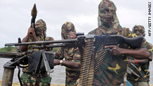 Movement for the Emancipation of the Niger Delta denied involvement in the abduction of the contractors.
