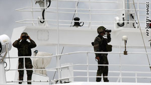 Security efforts have targeted piracy in the waters off lawless Somalia.